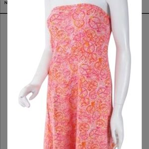 Adorable Lilly Pulitzer Tube Dress Xs